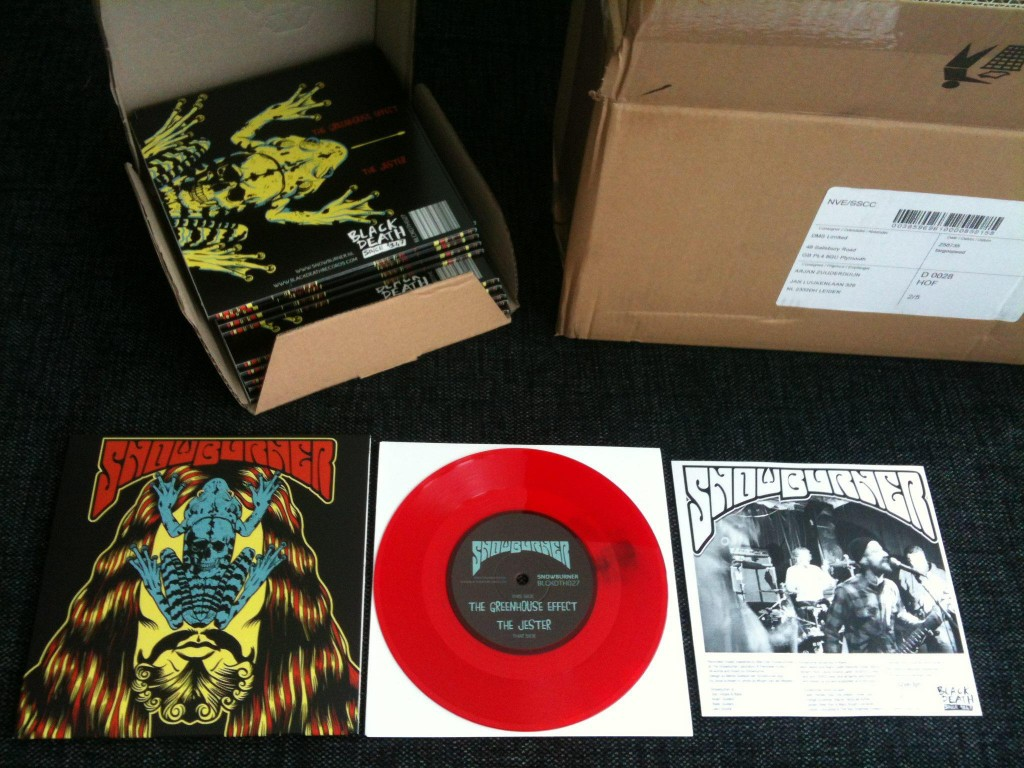 Snowburner 7 inch EP is in the house!